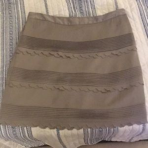 Champagne banana republic skirt